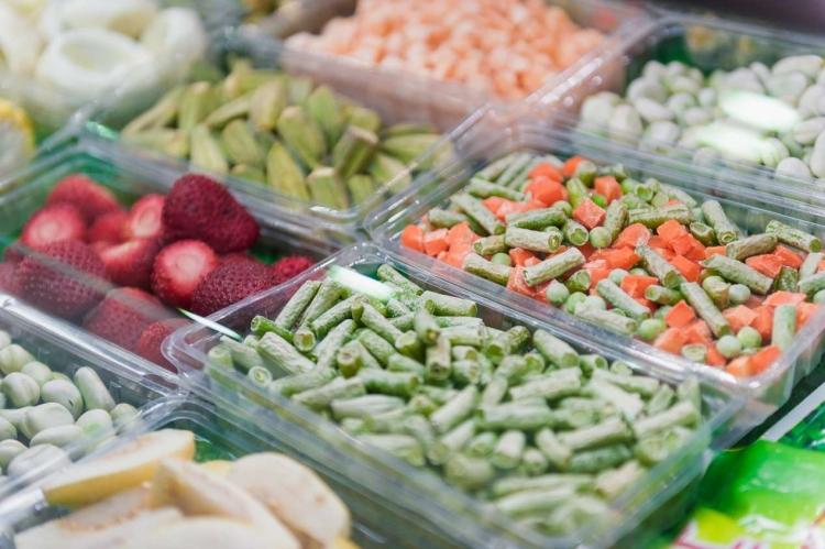 Заморозка овощей и фруктов