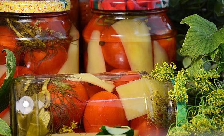 Маринады для помидоров на зиму