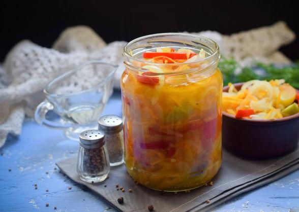 Заготовки на зиму салаты